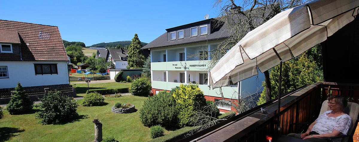 Der Balkon der Ferienwohnung 2