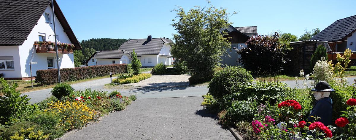 Grüne Oase in Liesen