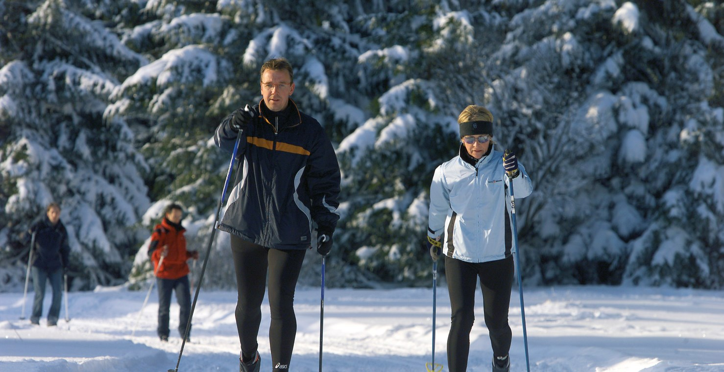 Cross-country skiing in Winterberg