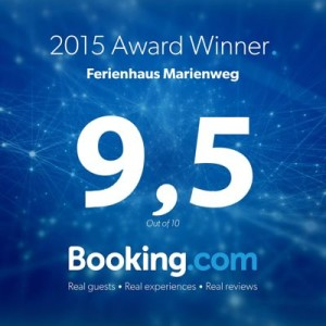 2015 Booking.com Award Winner