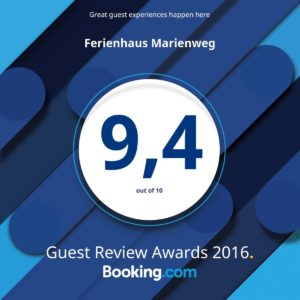 2016 Booking.com Award Winner